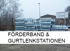 Förderband und Gurtlenkstationen Home